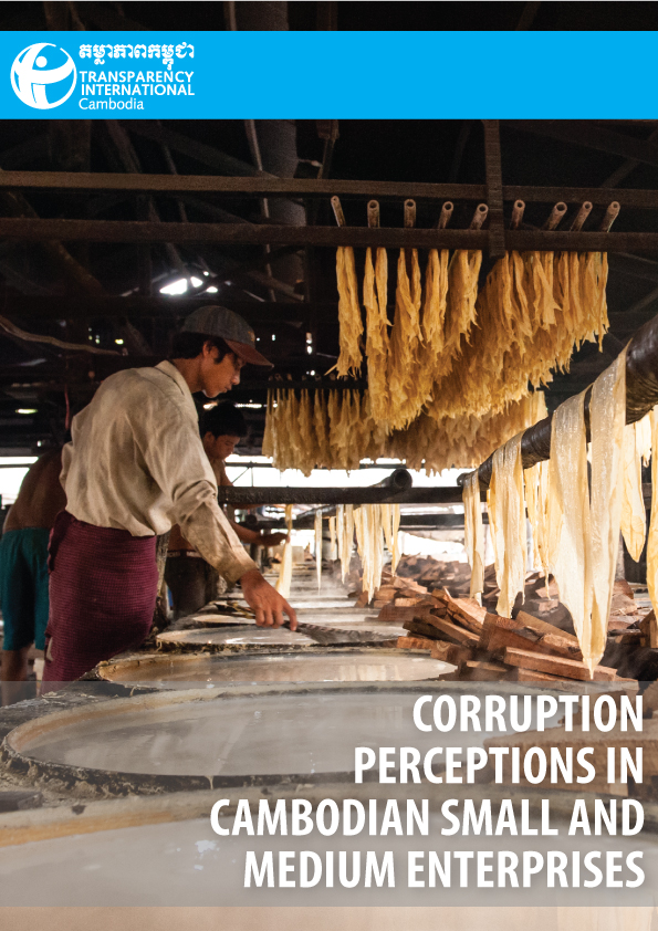 Perceptions of Corruption on Cambodian SMEs